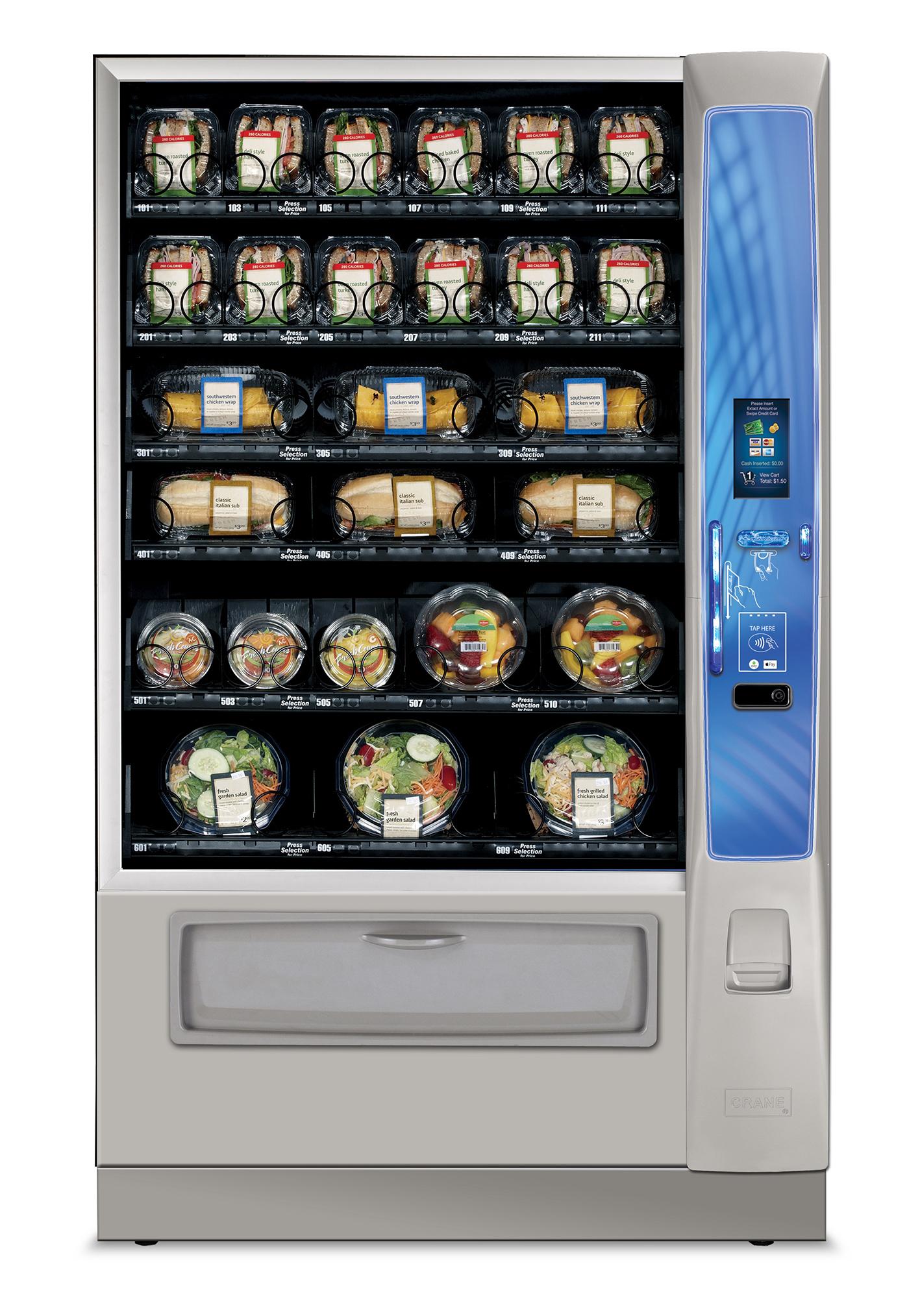 Fresh Food Vending Machine - Vending Simplicity